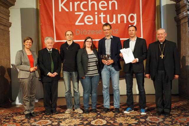 Preisverleihung Solidaritätspreis 2015 Bettellobby OÖ Kirchenzeitung Land OÖ