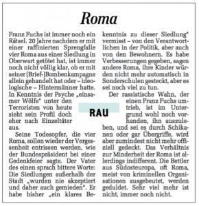Roma einserkastl