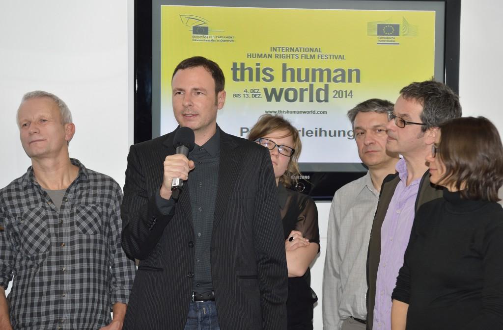 Verleihung Menschenrechtspreis 2014 Bettellobby_Foto Daniel Weber 01