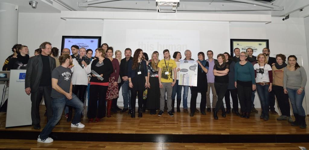 Verleihung Menschenrechtspreis 2014 Bettellobby_Foto Daniel Weber 02