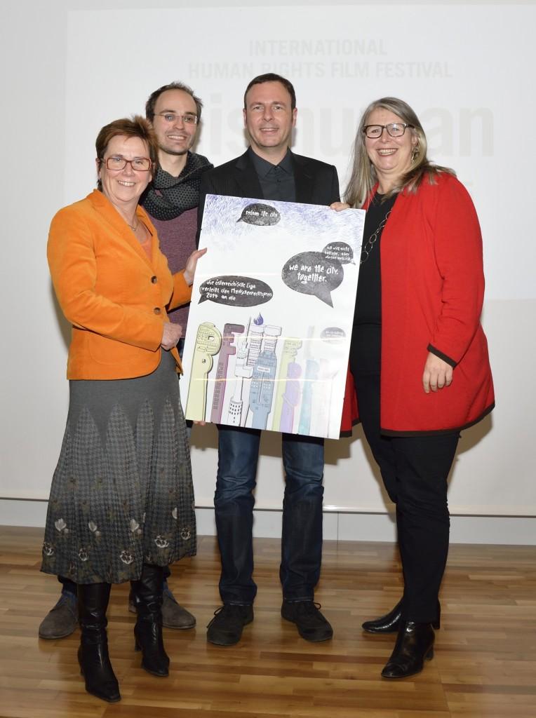 Verleihung Menschenrechtspreis 2014 Bettellobby_Foto Daniel Weber 03