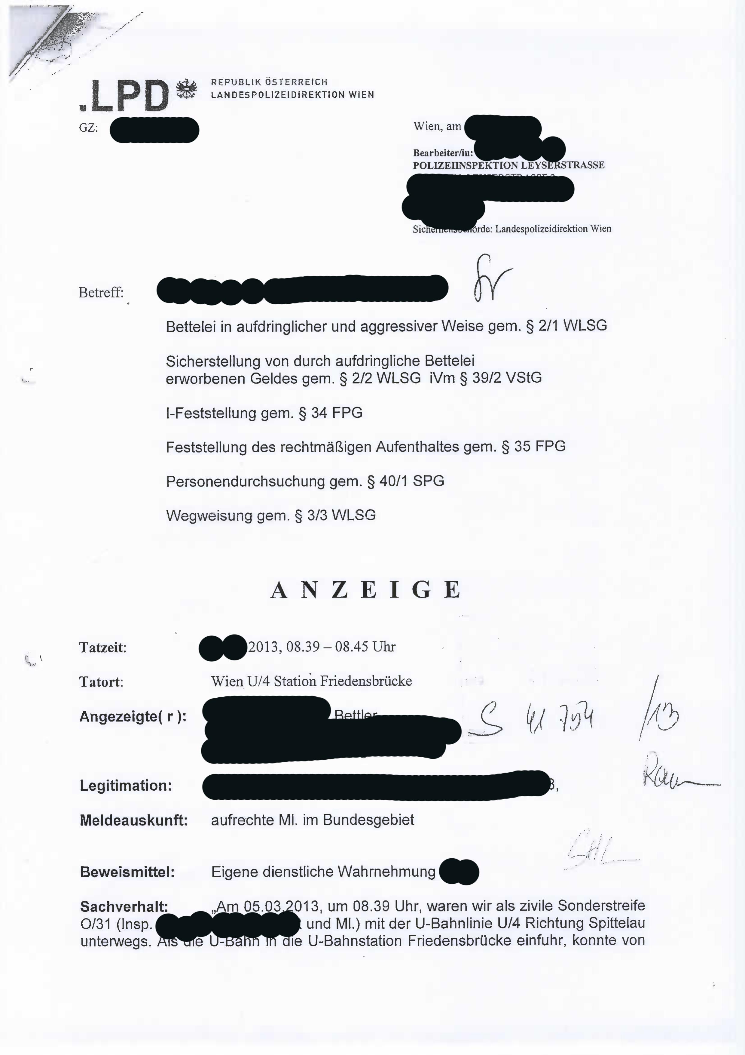 Kein Kasperltheater 1392013 10 Uhr Landespolizeidirektion Wien